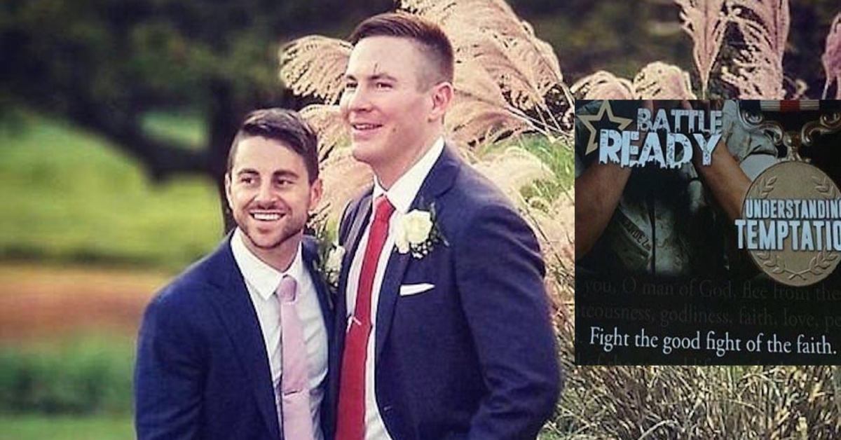 Gay couple sues Vistaprint after being sent 'sin' leaflets instead of wedding programmes