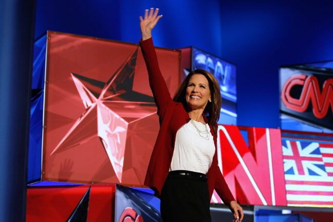 Former congresswoman Michele Bachmann eyes Senate run for Al Franken's seat