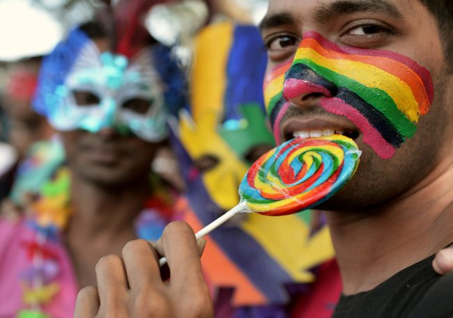 Gay sex has been illegal in India since 1861