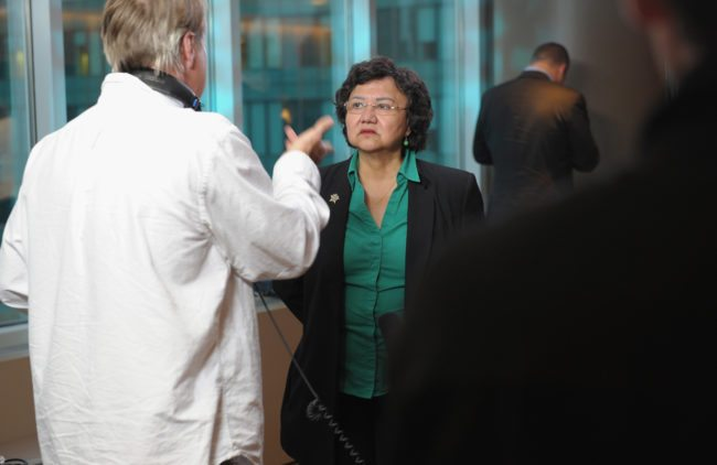 """NEW YORK, NY - JUNE 18:  Film Subject Lupe Valdez attends the HBO Premiere of """"The Out List"""" at HBO Theater on June 18, 2013 in New York City.  (Photo by Michael Loccisano/Getty Images for HBO)"""