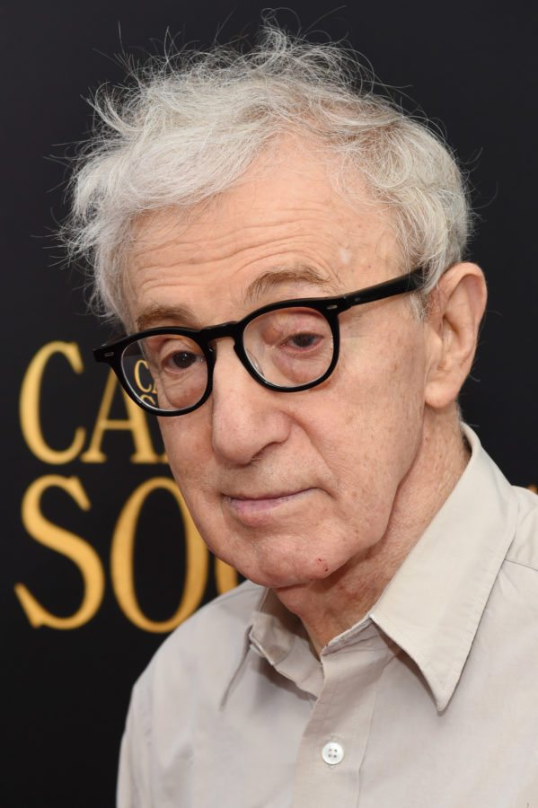 "NEW YORK, NY - JULY 13: Woody Allen attends the premiere of ""Cafe Society"" hosted by Amazon & Lionsgate with The Cinema Society at Paris Theatre on July 13, 2016 in New York City. (Photo by Jamie McCarthy/Getty Images)"