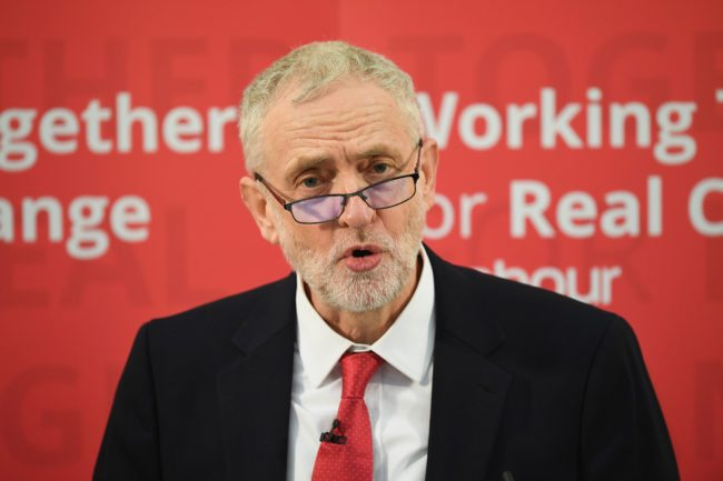 Labour Leader Jeremy Corbyn (Photo by Leon Neal/Getty Images)