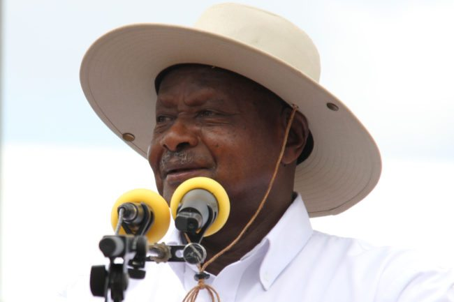 Image result for (Video) The mouth is for eating, not for oral sex – President Museveni warns Ugandans