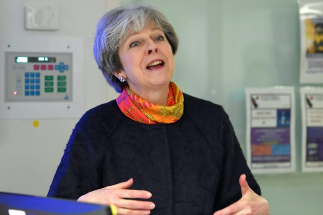 Prime Minister Theresa May (Photo by Toby Melville - WPA Pool/Getty Images)
