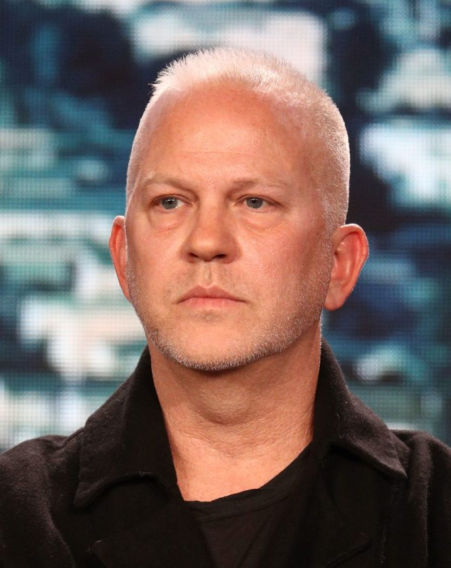 PASADENA, CA - JANUARY 04:  Show creator/showrunner/writer/director/executive producer Ryan Murphy of the television show 9-1-1 speaks onstage during the FOX portion of the 2018 Winter Television Critics Association Press Tour at The Langham Huntington, Pasadena on January 4, 2018 in Pasadena, California.  (Photo by Frederick M. Brown/Getty Images)