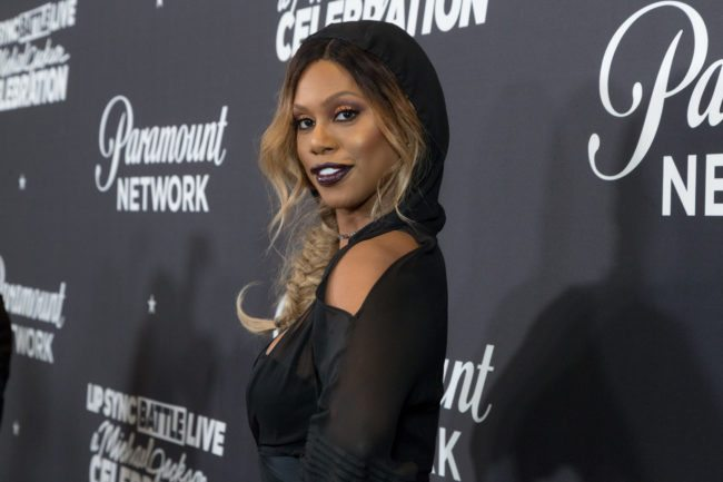 Laverne Cox becomes the first trans woman on the cover of Cosmopolitan