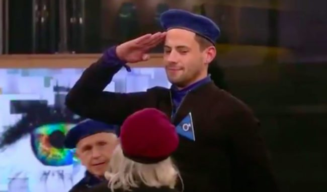 Andrew Brady confronts Ann Widdecombe over CBB nomination
