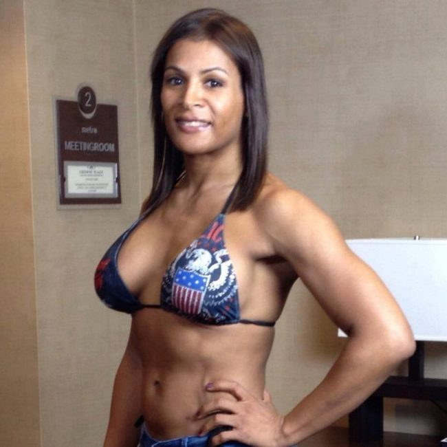 Trans athlete Fallon Fox
