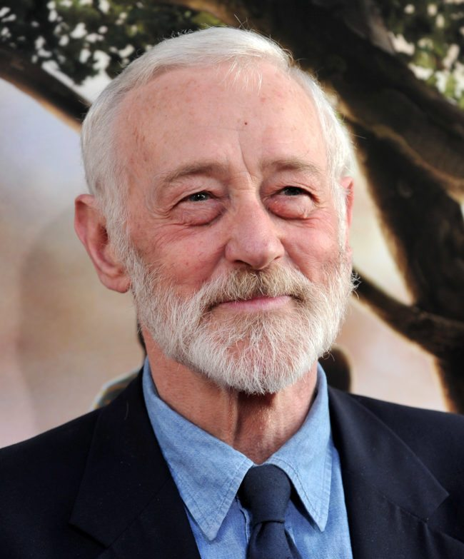 """HOLLYWOOD - JULY 26: Actor John Mahoney arrives to the premiere of Warner Bros.'s """"Flipped"""" on July 26, 2010 in Hollywood, California. (Photo by Alberto E. Rodriguez/Getty Images)"""