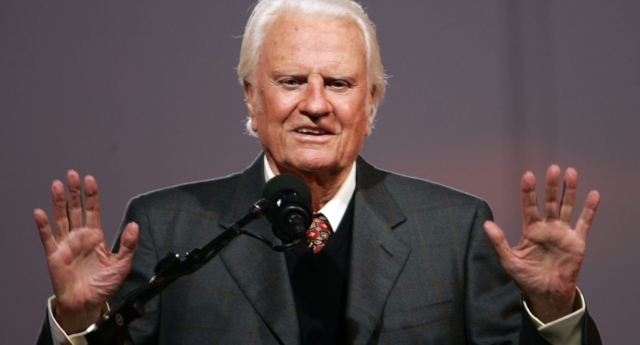 Billy Graham (Photo by Spencer Platt/Getty Images)