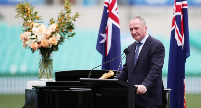 Barnaby Joyce breaks silence on relationship with former staffer