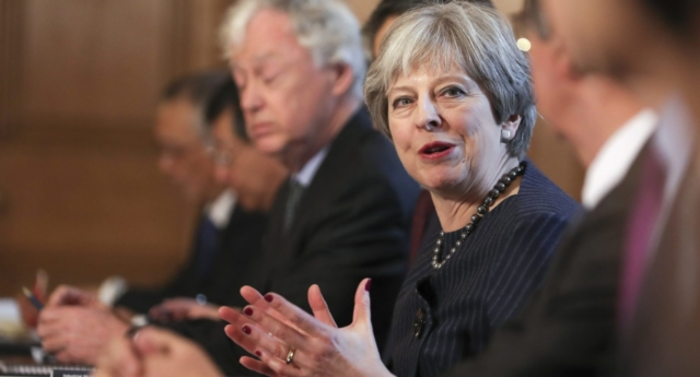 Prime Minister Theresa May (Photo by Daniel Leal-Olivas - WPA Pool/Getty Images)
