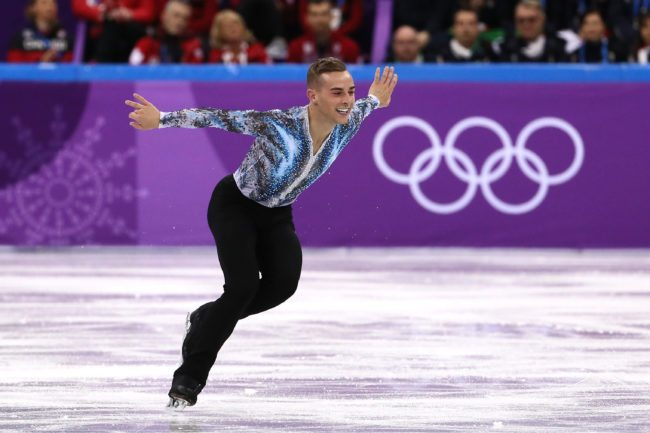 Watch a 13-year-old Adam Rippon describe his Olympic dreams