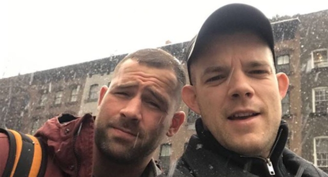 Actor Russell Tovey engaged