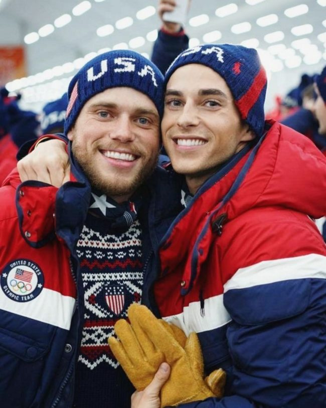 Britney Spears tweeted at Gus Kenworthy, so he's already won the Olympics