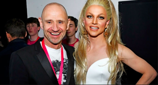 Evan Davis and Courtney Act (National Student Pride)