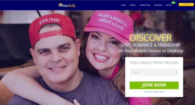 Dating website for Trump supporters only allows straight people to register
