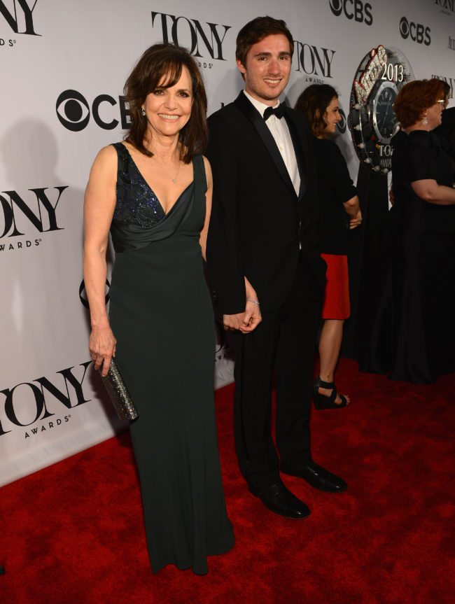 NEW YORK, NY - JUNE 09:  Actreass Sally Field and Sam Greisman attend The 67th Annual Tony Awards at Radio City Music Hall on June 9, 2013 in New York City.  (Photo by Larry Busacca/Getty Images for Tony Awards Productions)