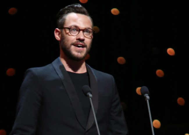 LONDON, ENGLAND - APRIL 15: (EXCLUSIVE COVERAGE) Will Young presents the award for Choreographer onstage at the 2012 Olivier Awards at The Royal Opera House on April 15, 2012 in London, England. (Photo by Tim Whitby/Getty Images)