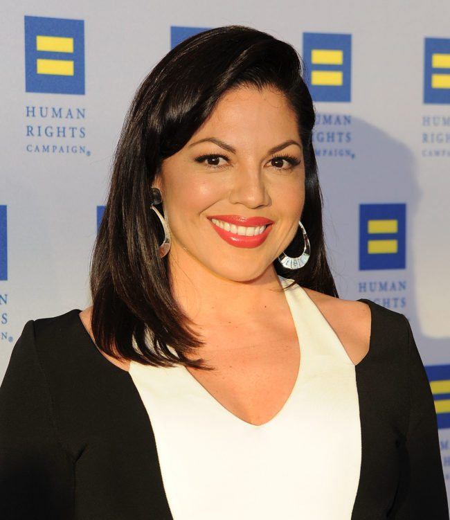 LOS ANGELES, CA - MARCH 14:  Actress Sara Ramirez attends the Human Rights Campaign Los Angeles Gala 2015  at JW Marriott Los Angeles at L.A. LIVE on March 14, 2015 in Los Angeles, California.  (Photo by Angela Weiss/Getty Images)