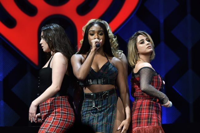 SUNRISE, FL - DECEMBER 17: Fifth Harmony performs at Y100's Jingle Ball 2017 at BB&T Center on December 17, 2017 in Sunrise, Florida. (Photo by Gustavo Caballero/Getty Images for iHeartMedia)