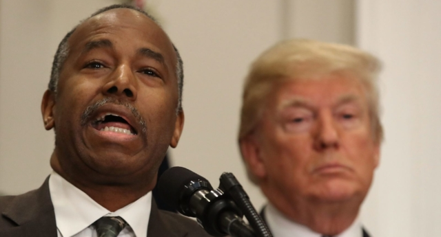 Carson changes HUD mission to allow discrimination
