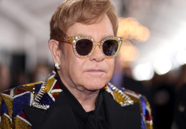 NEW YORK, NY - JANUARY 28: Recording artist Sir Elton John attends the 60th Annual GRAMMY Awards at Madison Square Garden on January 28, 2018 in New York City. (Photo by Christopher Polk/Getty Images for NARAS)