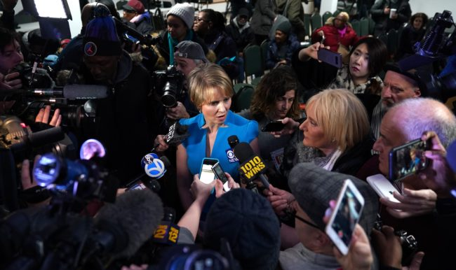Cynthia Nixon (Photo by TIMOTHY A. CLARY/AFP/Getty Images)