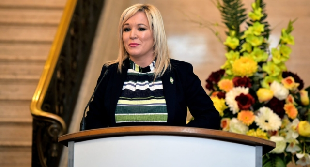 Sinn Féin's Northern Ireland leader Michelle O'Neill (Photo by Charles McQuillan/Getty Images)