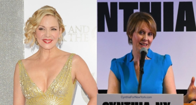 Kim Cattrall Addresses Former SATC Co-Star Cynthia Nixon's Run for Governor