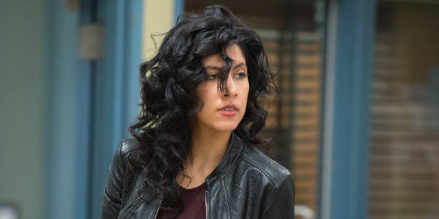 """BROOKLYN NINE-NINE -- """"Operation Broken Feather"""" Episode 116 -- Pictured: Stephanie Beatriz as Rosa Diaz -- (Photo by: Eddy Chen/NBC/NBCU Photo Bank via Getty Images)"""