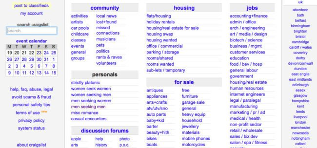 What sites have replaced craigslist personals