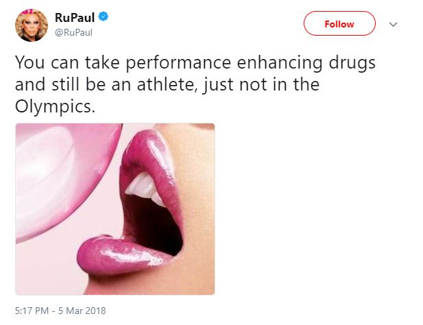 RuPaul says transgender folks