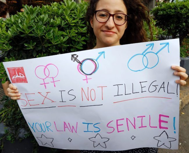 Lebanon court rules that gay sex is not a crime