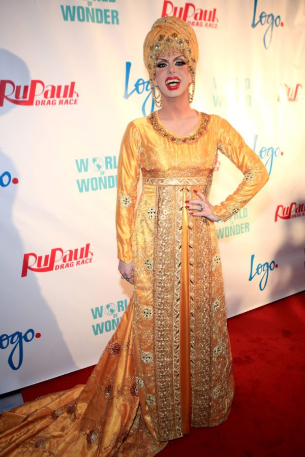 "Robbie Turner attends Logo's ""RuPaul's Drag Race"" Season 8 Premiere (Getty)"