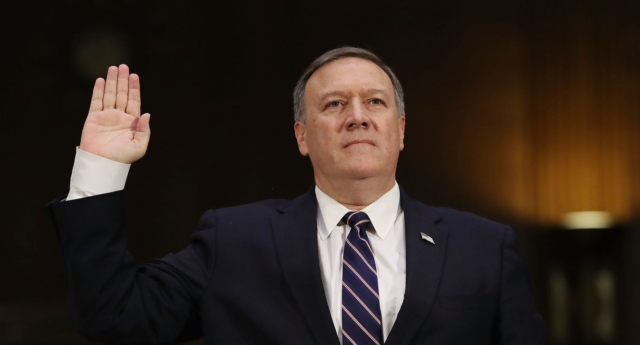 CIA chief confirmed as US secretary of state