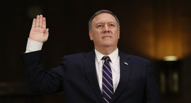 Group of former national security officials endorse Pompeo to lead State