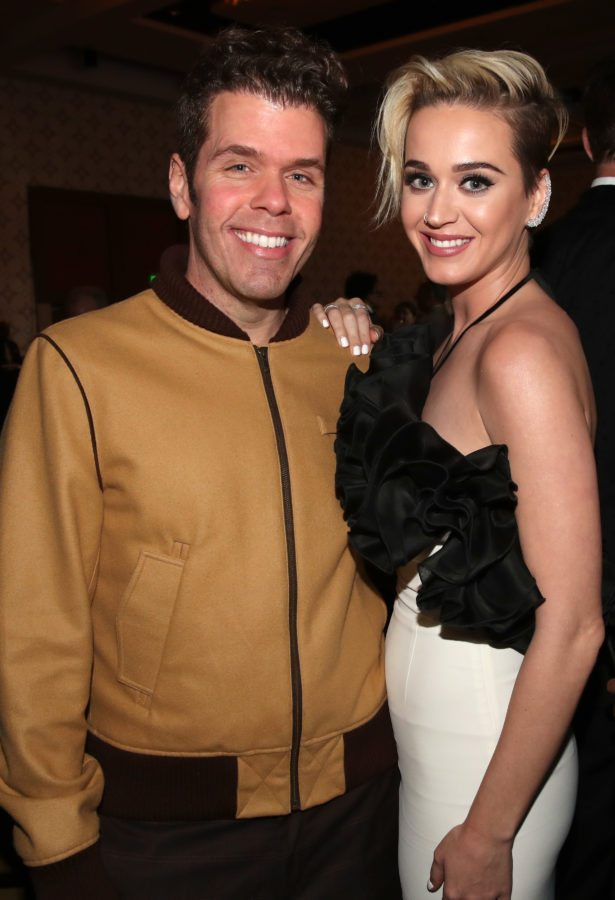 LOS ANGELES, CA - MARCH 18: Internet personality Mario Lavandeira (L) and singer Katy Perry at The Human Rights Campaign 2017 Los Angeles Gala Dinner at JW Marriott Los Angeles at L.A. LIVE on March 18, 2017 in Los Angeles, California. (Photo by Christopher Polk/Getty Images for Human Rights Campaign)
