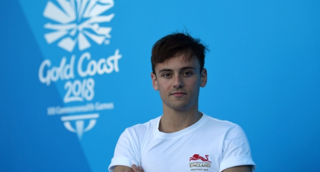 Britain's Tom Daley (Photo by ANTHONY WALLACE/AFP/Getty Images)