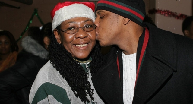 Jay-Z and his mother Gloria Carter (Getty)