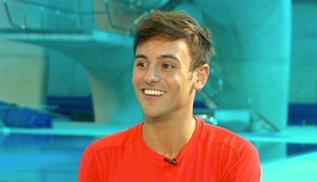 Tom Daley, known as a twink