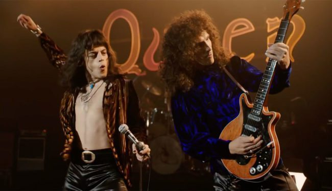 Rami Malek as Freddie Mercury in Bohemian Rhapsody. Malaysian censors have cut out some gay scenes from the film