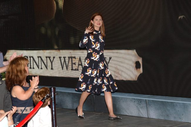 ORLANDO, FL - JUNE 18:  Bonnie Wright attends The Wizarding World of Harry Potter Diagon Alley Grand Opening at Universal Orlando on June 18, 2014 in Orlando, Florida.  (Photo by Gustavo Caballero/Getty Images)