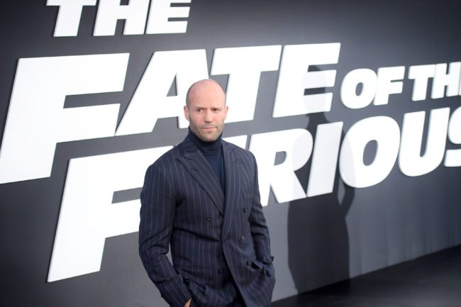 "NEW YORK, NY - APRIL 08: Actor Jason Statham attends ""The Fate Of The Furious"" New York Premiere at Radio City Music Hall on April 8, 2017 in New York City. (Photo by Dimitrios Kambouris/Getty Images)"