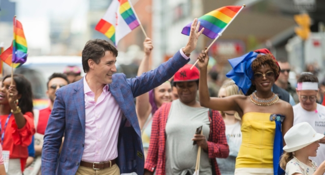 "Trudeau said he was committed to ""full equality for the queer community"" (Getty)"