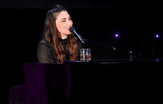 BEVERLY HILLS, CA - OCTOBER 25: Sara Bareilles performs onstage at the 2017 Princess Grace Awards Gala at The Beverly Hilton Hotel on October 25, 2017 in Beverly Hills, California. (Photo by Kevin Winter/Getty Images for Princess Grace Foundation - USA)