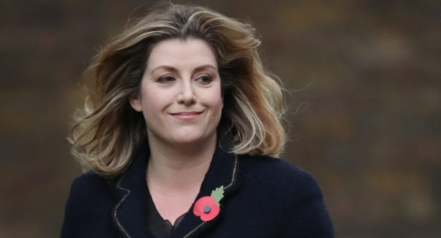 Penny Mordaunt arrives at Downing Street (Dan Kitwood/Getty Images)