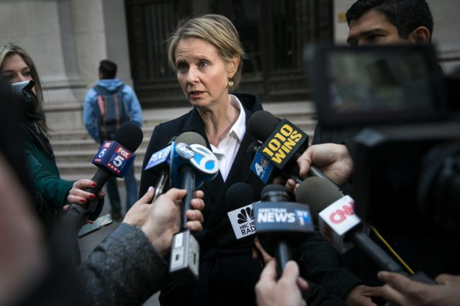 Cynthia Nixon Jokes: 'Vote For The Homo, Not Cuomo'