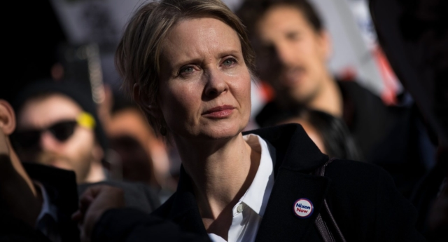 Cynthia Nixon tells New Yorkers: Vote for the homo, not for Cuomo