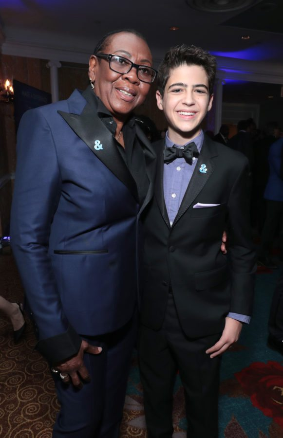 NEW YORK, NY - MAY 05:  Gloria Carter and Joshua Rush attend the 29th Annual GLAAD Media Awards at The Hilton Midtown on May 5, 2018 in New York City.  (Photo by Cindy Ord/Getty Images for GLAAD)